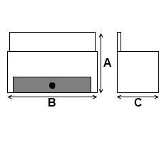 Fire Basket Dimensions Diagram